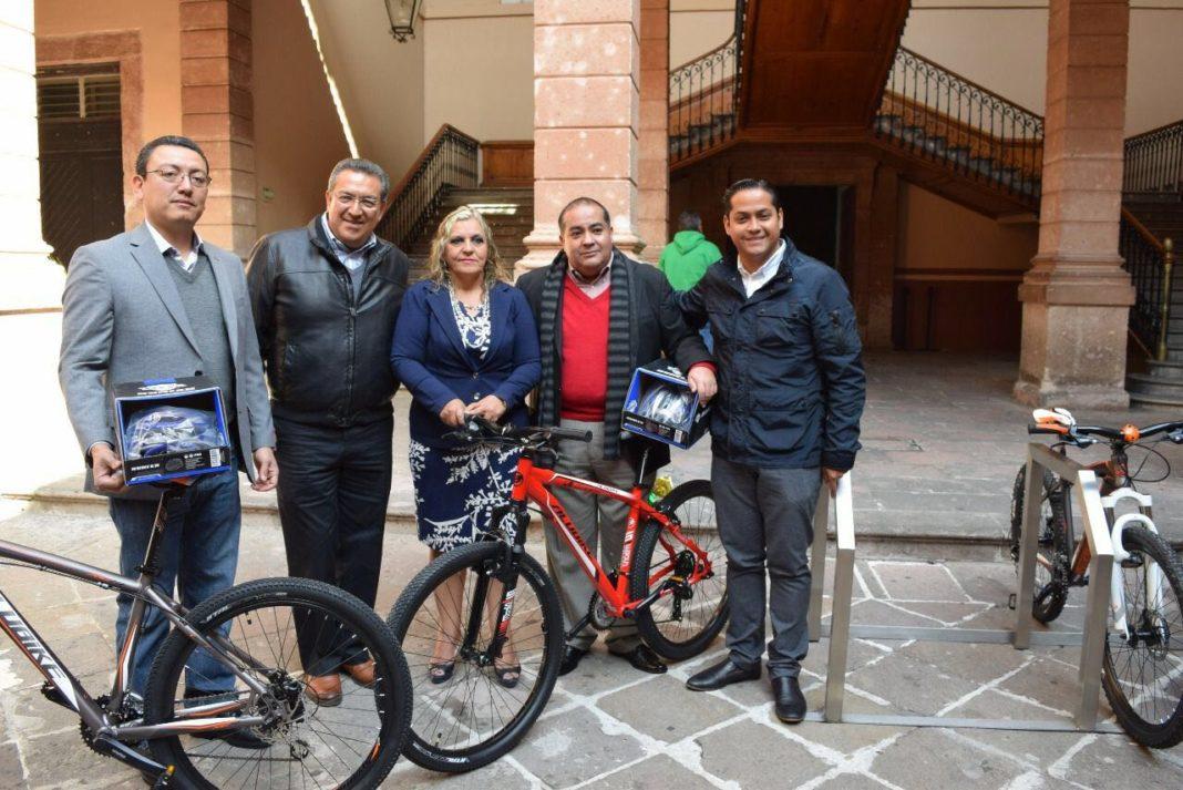 El Congreso primer espacio que impulsa el uso de la bicicleta