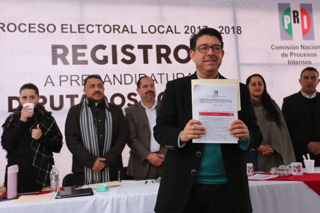 PRI BC presenta lista de candidatos a diputados federales y senadores