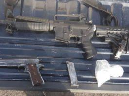 Asegura Policía Michoacán armas, droga y vehículo