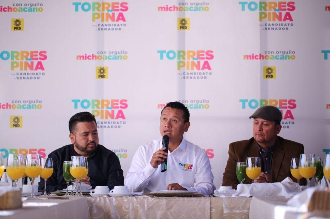Torres Piña abarda el tema de Ley de Seguridad Interior