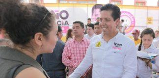 Se compromete Toño García con Tierra Caliente