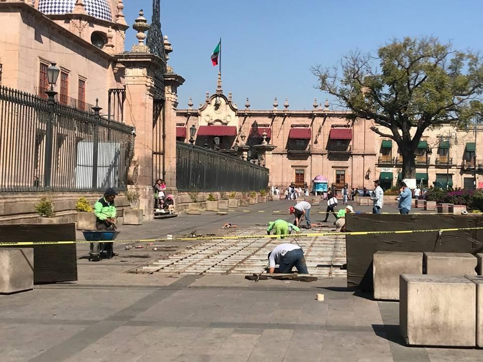 Adiós a las fuentes saltarinas de Morelia