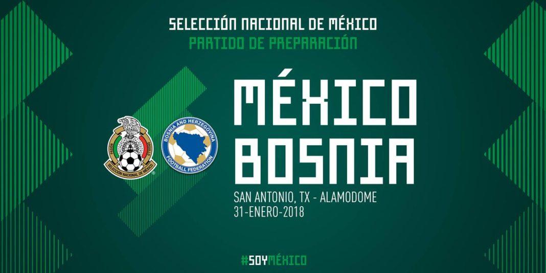 México dio a conocer convocatoria para enfrentar a Bosnia