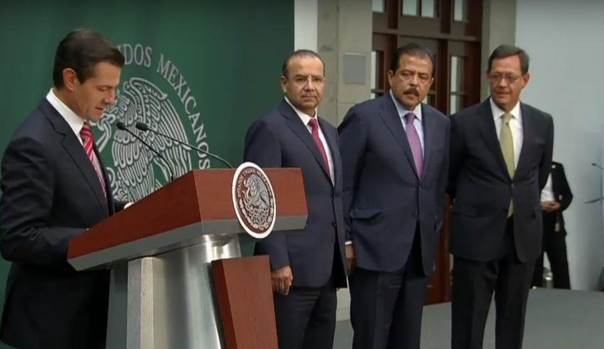Navarrete a Gobernación, Campa a Trabajo, y Eviel Pérez a Sedesol