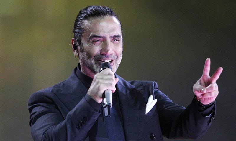 Alejandro Fernández listo para su concierto en Morelia