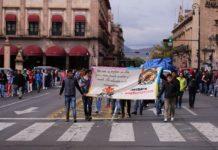 Bloquea CUL Madero; exigen recursos y condonaciones