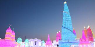 Inauguran festival de esculturas de hielo en China