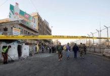 Se genera doble explosión en Bagdad