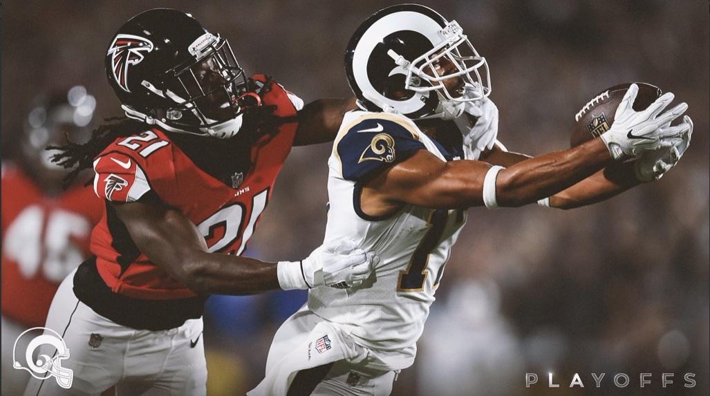 Los Falcons vencen a los Rams y avanzan en playoffs