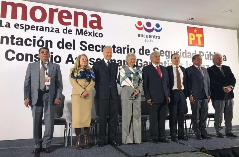 Presenta AMLO gabinete de seguridad y estrategia contra la delincuencia