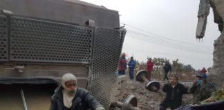 Tren provoca muerte de 5 personas