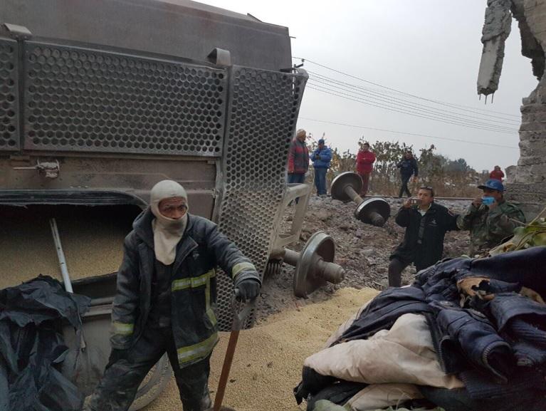 #AlertaADN Se descarrila tren en Ecatepec, se reportan muertos y heridos