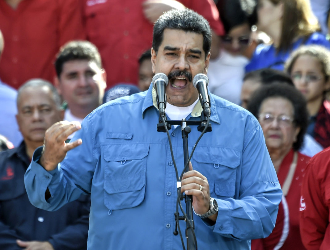 Anuncia Maduro salida formal de Venezuela de la OEA