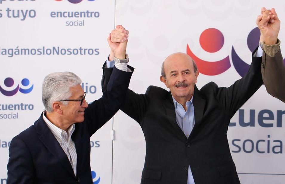 Fausto Vallejo competiría con el PES a la alcaldía de Morelia
