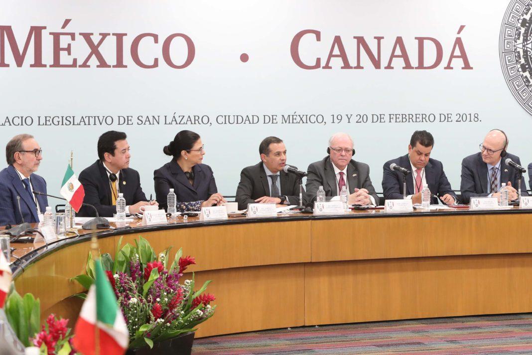 Alerta Ernesto Cordero a legisladores canadienses a no caer en trampa con EU
