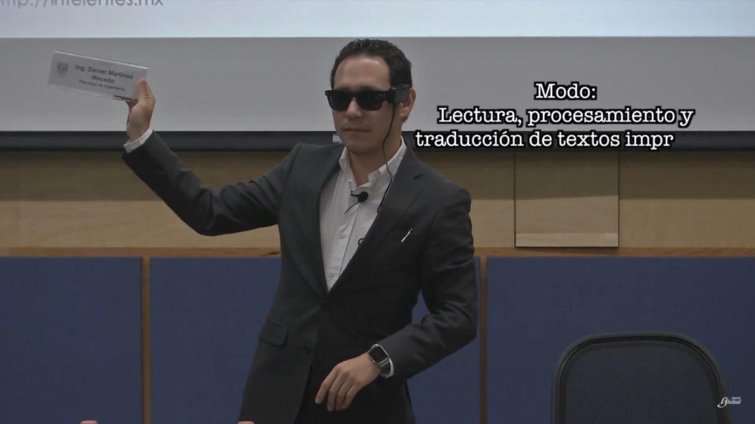 Presentan lentes inteligentes para débiles visuales