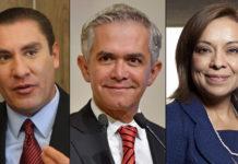 Vázquez Mota, Moreno Valle y Mancera encabezan lista pluri