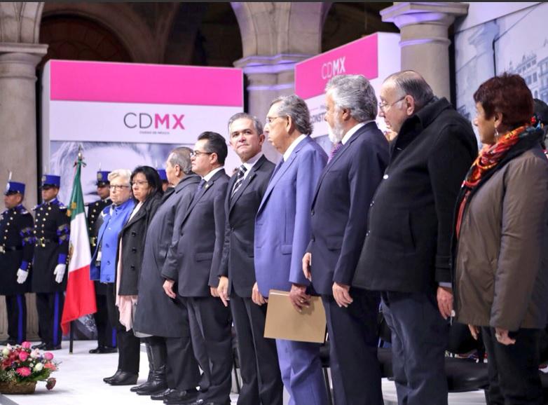 'Constitución de CDMX es punta de lanza hacia un gobierno de coalición'