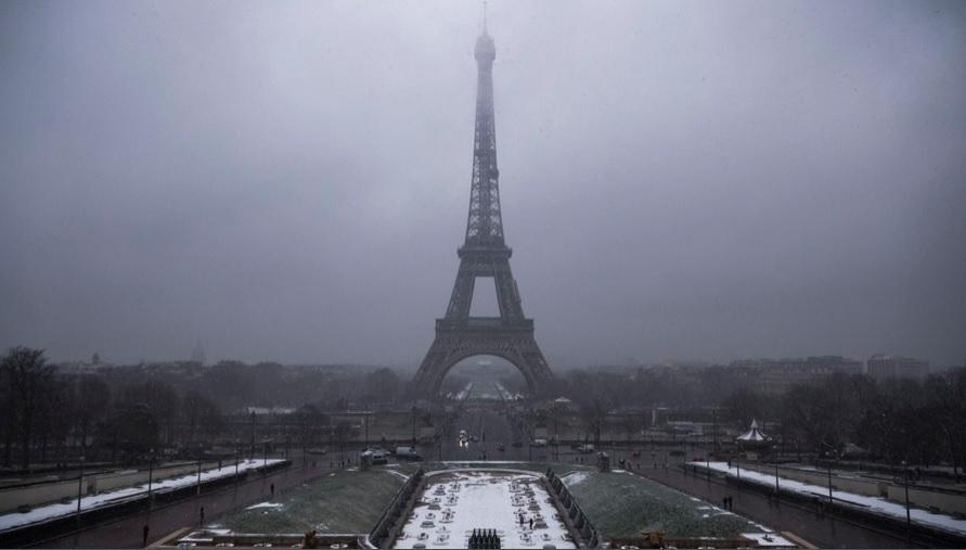 Cierran la Torre Eiffel