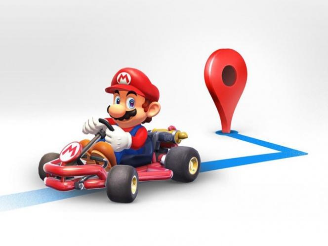 Google Maps añadirá a Mario Kart en su navegador