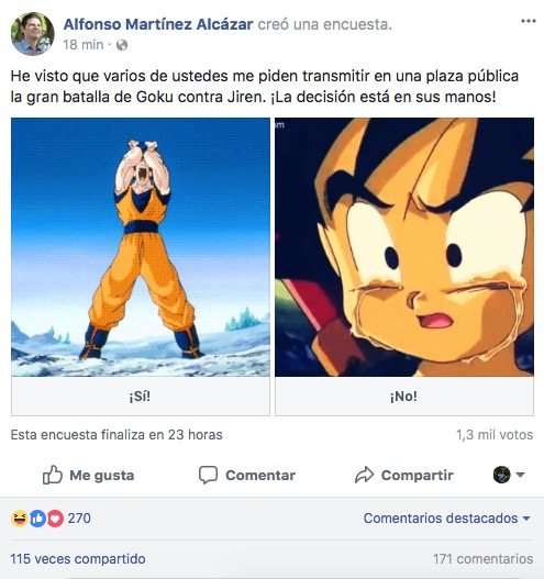 Quieren ver final de Dragon Ball Super en la 'X'