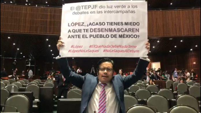 López no le saques a los debates o te hace cus cus: Noé Bernardino