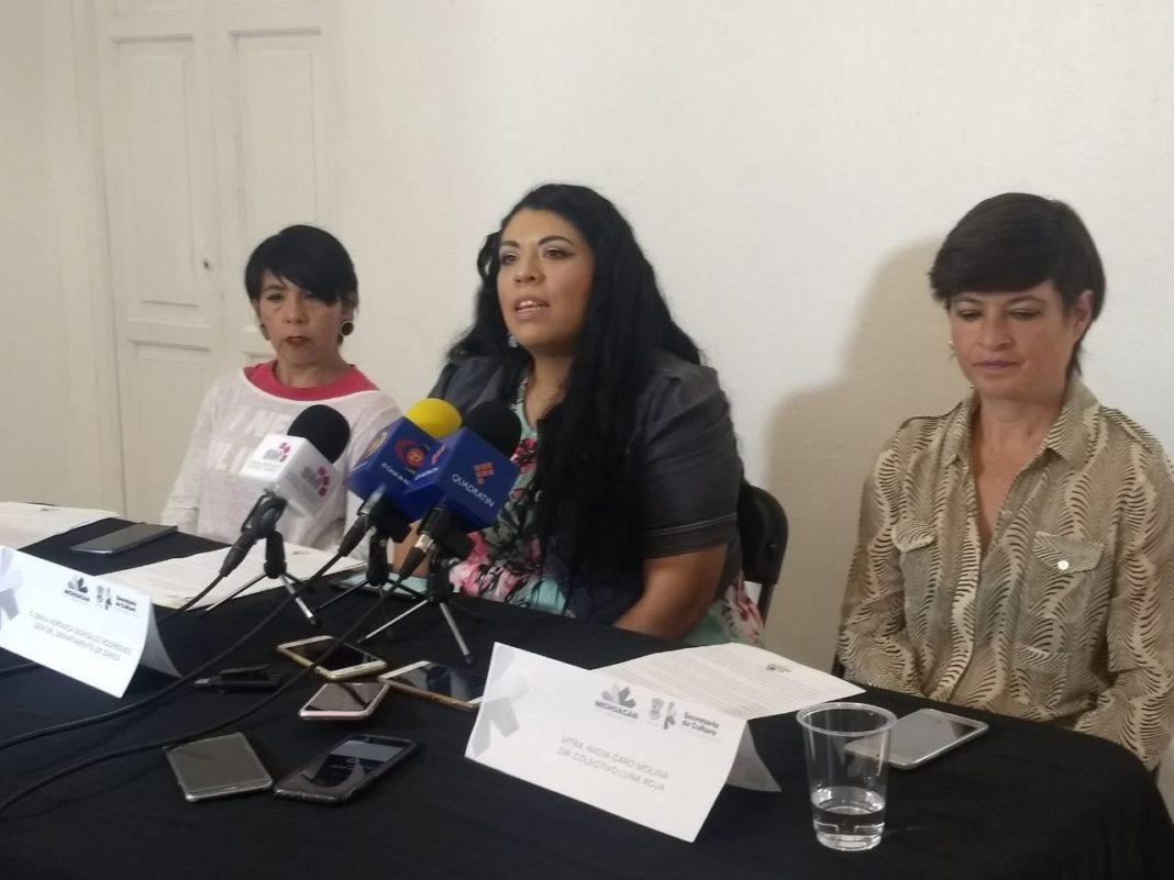 Artistas michoacanas listas para celebrar a la mujer