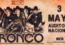Bronco se presentará en el Auditorio Nacional