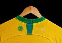 Presentan playera de Brasil para mundial