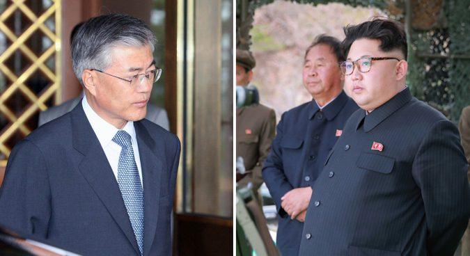 Kim Jong-un y Moon Jae-in se verán las caras en la zona de seguridad conjunta