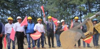 Con 5 mdp arrancan obras de Telebachillerato en Nahuatzen