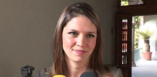La candidata a la presidencia de Morelia,se deslindó de Mario Tzintzún y reprobó el comentario hecho por él