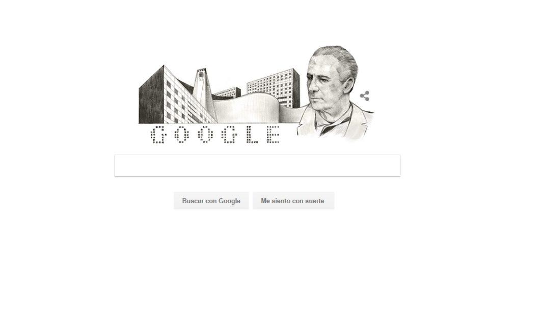 Recuerda Google al arquitecto mexicano Mario Pani Darqui