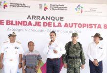 Marina, Ejército, Policía Federal y Michoacán resguardarán la autopista Siglo XXI