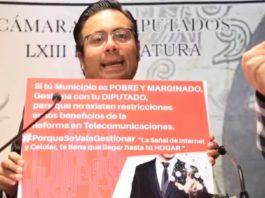 Pide Noé Bernardino garantizar beneficios de telecomunicación en Michoacán