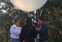 Lanzan el primer pico satélite michoacano a la estratosfera