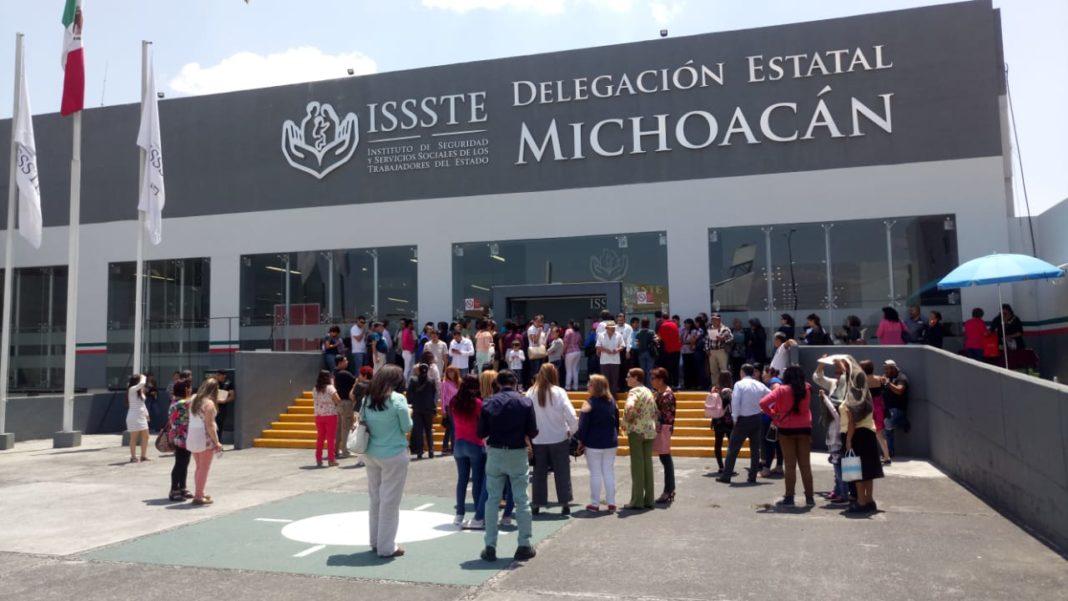 Por manifestarse en el ISSSTE denuncian