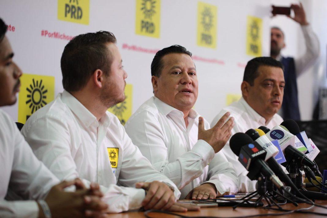 Líder nacional de ADN será el delegado especial del PRD en Michoacán