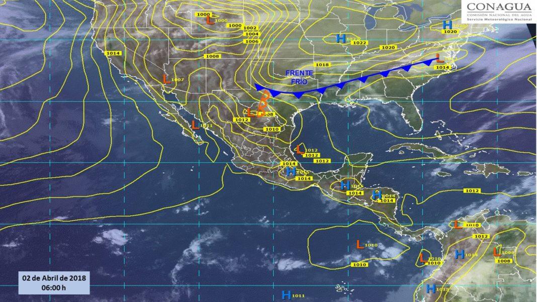 Prevén vientos fuertes y tormentas nocturnas en el norte de México