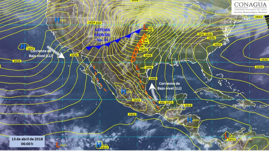 Hoy se prevén tormentas fuertes y mucho calor en estos estados