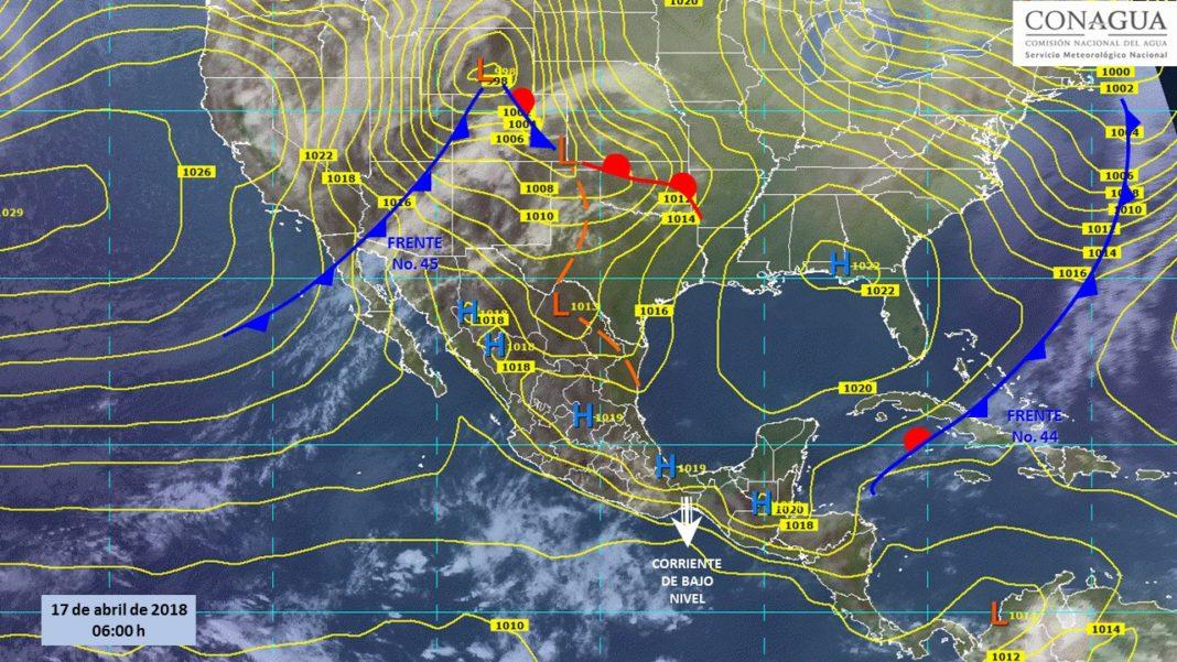 Nuevo frente frío ingresa al país, se esperan lluvias y calor