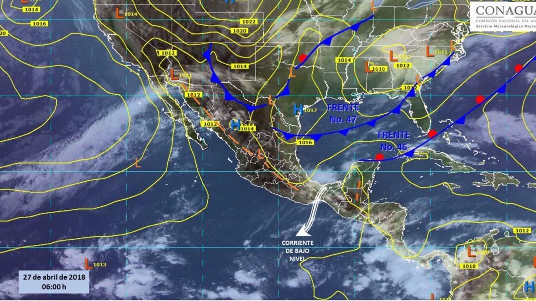 Hoy se pronostican lluvias intensas y granizadas en Puebla, Veracruz y Oaxaca