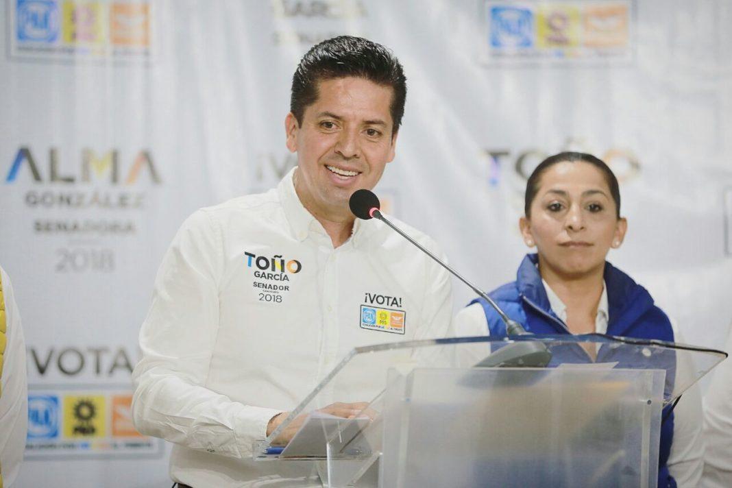 Pide Toño García campaña sin guerra sucia ni señalamientos