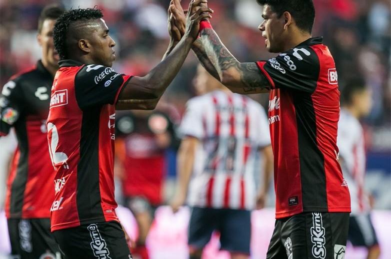 Miller Bolaños brilla con gol y asistencia en triunfo contundente de Xolos