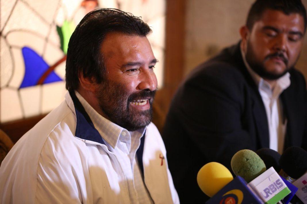 Sin respaldo, se presenta candidato del Panal al Ayuntamiento de Morelia