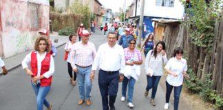 Confían vecinos de la colonia López Mateos en Wilfrido Lázaro Medina