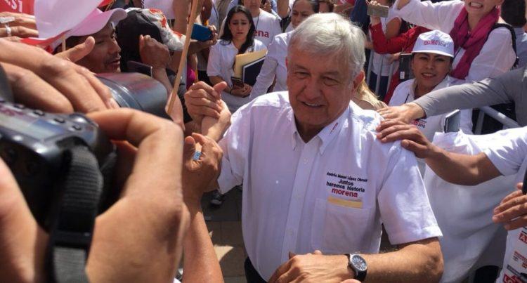 Elecciones 2018: Andrés Manuel López Obrador (AMLO) abierto a construcción de NAIM