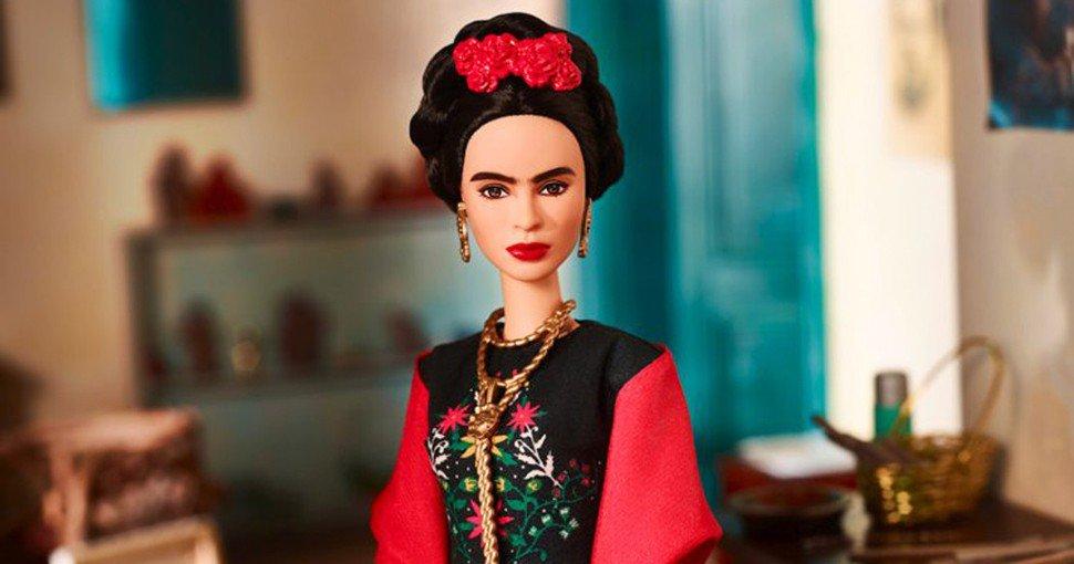 Juez impide venta de Barbie de Frida Kahlo en México