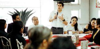 Toño Ixtláhuac da a conocer sus propuestas a Asociaciones Civiles en Morelia