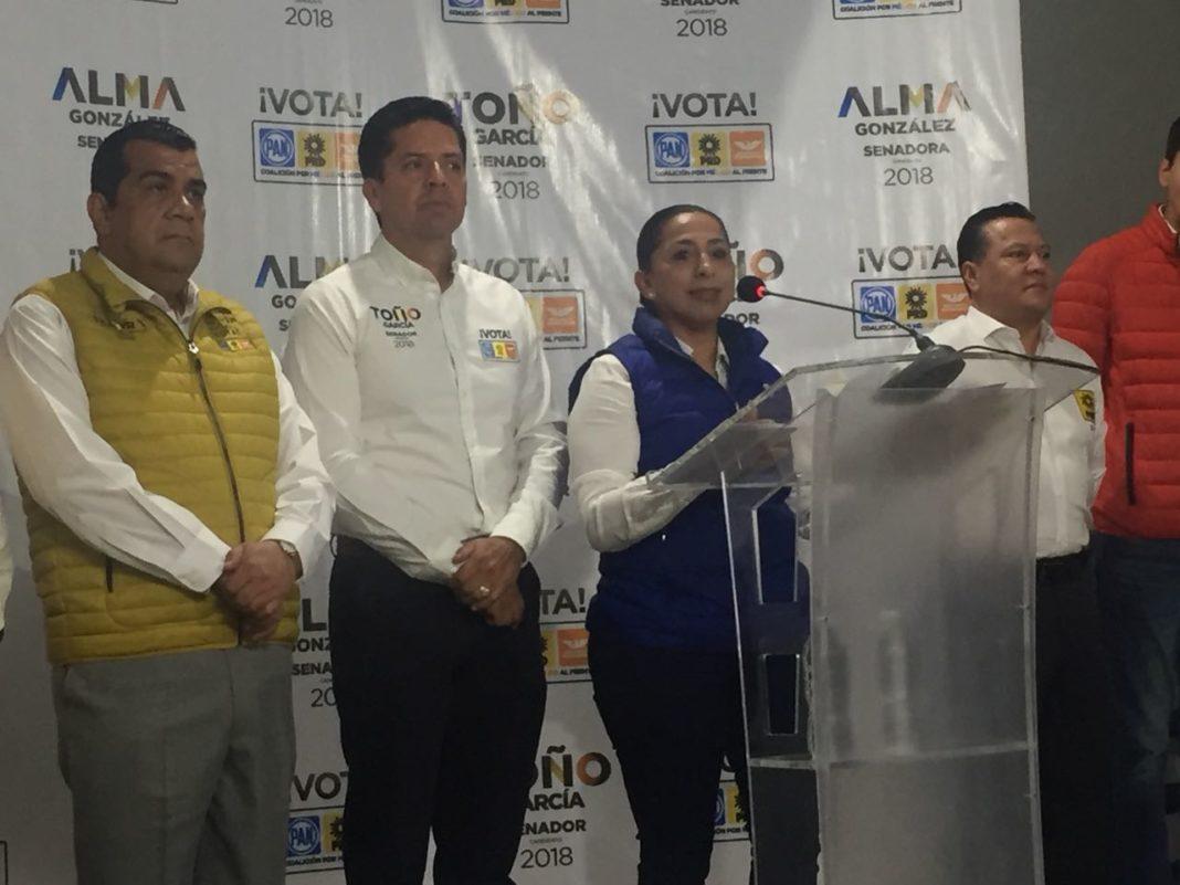 Evento de arranque de campaña, muestra de fuerza del Frente: Alma Mireya